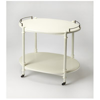 Masterpiece Kathleen  31 X 20 inch Cottage White Serving Table