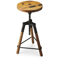 Industrial Chic Hinton Reclaimed Wood 26 inch Metalworks Barstool