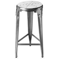 Industrial Chic Essex Backless 28 inch Metalworks Barstool