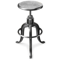 Industrial Chic Parnell Adjustable Swivel 22 inch Metalworks Barstool