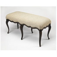 Artists' Originals Michelline Cafe Noir Hand Painted Cafe Noir Bench
