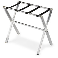 3237140 Crystal Clear Acrylic Butler Loft Luggage Rack
