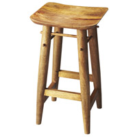 Lotus Solid Wood 29 inch Artifacts Barstool