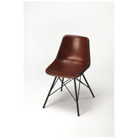 Butler Loft Inland  Brown Leather Accent Chair
