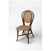 Designer'S Edge Leena Rattan Brown Accent Chair