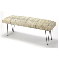 Ansel Cotton Upholstered Butler Loft Bench