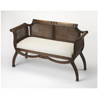 Fabian Formal Rattan Heritage Bench