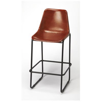 Butler Loft Myles Leather 42 inch Brown Leather Barstool