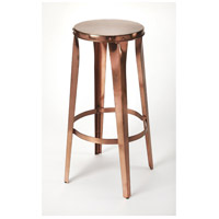 Industrial Chic Ulrich Copper Backless 30 inch Copper Barstool