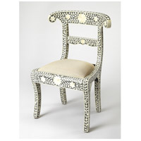 Bone Inlay Amelia  Gray Bone Inlay Accent Chair