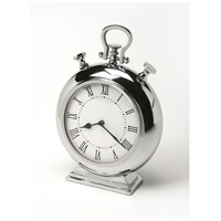 Hors D'Oeuvres Alistair Nickel Finish 15 X 11 inch Clock