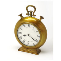 Hors D'Oeuvres Kenilworth Antique Brass Finish 15 X 11 inch Clock