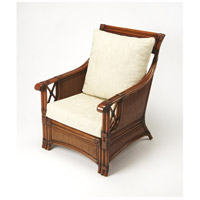 Designer'S Edge Arihi Rattan Chestnut Rattan Accent Chair