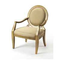 Accent Seating Gretchen Cappucino Light Brown & Cappuccino Accent Chair