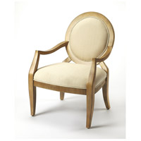 Accent Seating Gretchen  Beige & Cappuccino Accent Chair