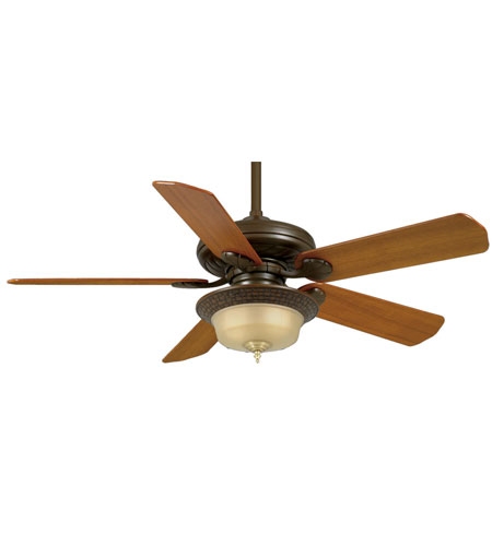 Casablanca Fans Badge 21 Inch Fan Blades (Set of 5) in Teak B507 photo