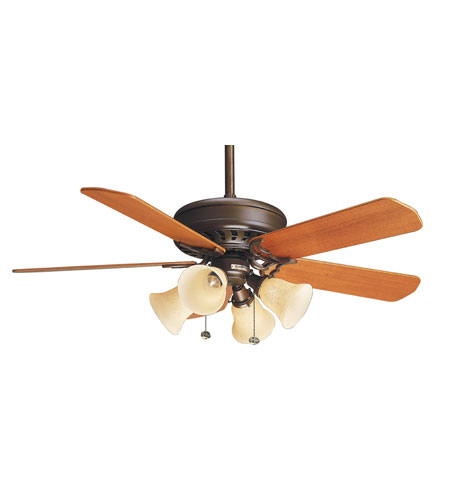 Casablanca Fans Standard 21 Inch Fan Blades (Set of 5) in Teak B562 photo