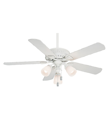 Casablanca 54005 Ainsworth 54 inch Cottage White Indoor Ceiling Fan photo