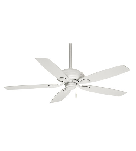 Casablanca 54037 Utopian 52 inch Snow White with Matte Snow White Blades Ceiling Fan photo