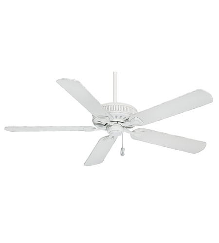 Casablanca Ainsworth Indoor Ceiling Fan in Cottage White 55000 photo
