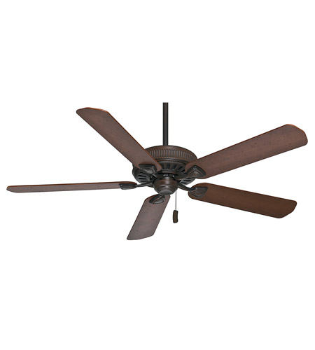 Casablanca 55001 Ainsworth 60 inch Brushed Cocoa with Distressed Walnut / Dark Walnut Blades Indoor Ceiling Fan photo