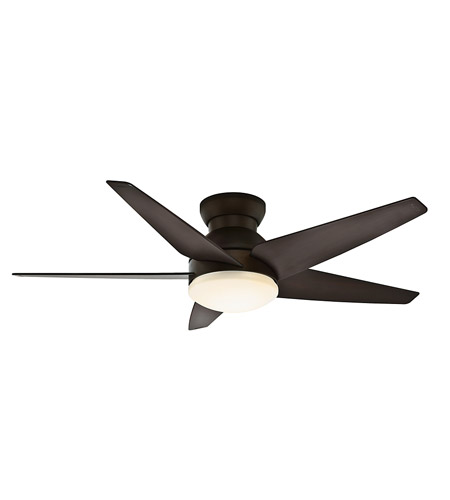 Casablanca Isotope 1 Light Indoor Ceiling Fan in Brushed Cocoa 59023 photo