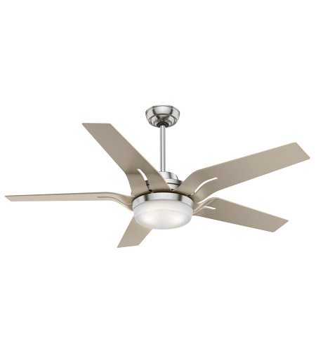 Casablanca 59197 Correne 56 inch Brushed Nickel with Champagne ...