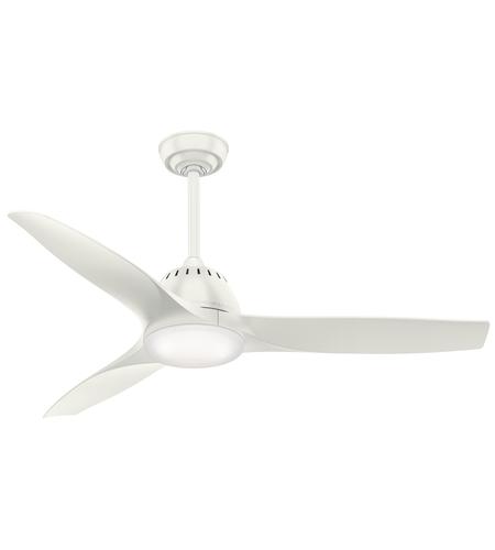 Casablanca 59284 Wisp 52 inch Fresh White Indoor Ceiling Fan