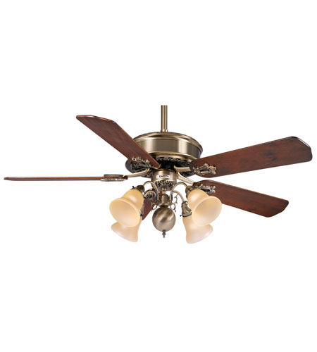 Casablanca Bb21 Wd Badge Dark Walnut 21 Inch Set Of 5 Fan