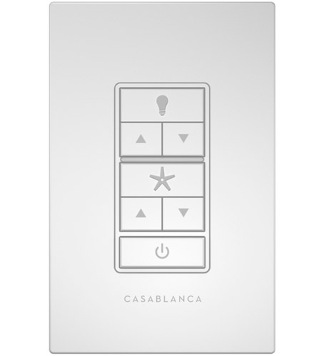 Casablanca Fan Wall Control Instructions