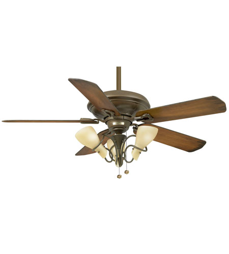 Casablanca Factory Refurbished Brescia Ceiling Fan - Motor only in Oil-Rubbed Bronze (blades sold separately) 9573D photo