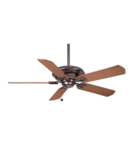 Casablanca Factory Refurbished Brescia Transitional Ceiling Fan - Motor only in Weathered Copper 9532D photo