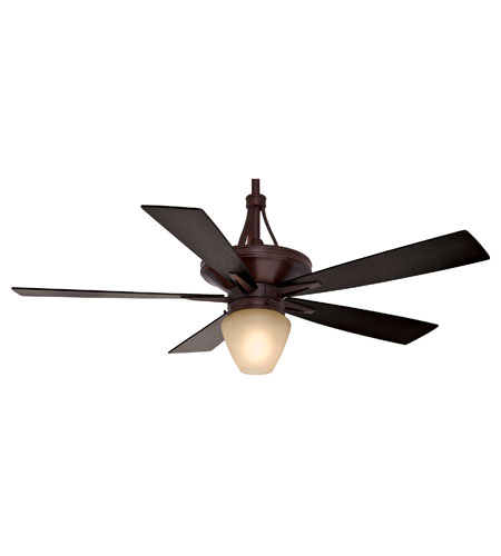 Casablanca C42G546L Colorado 60 inch Brushed Cocoa with Walnut / Burnt Walnut Blades Indoor Ceiling Fan photo