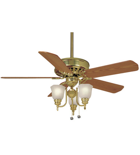 Casablanca Fans Standard 21 Inch Fan Blades (Set of 5) in Medium Oak B207 photo