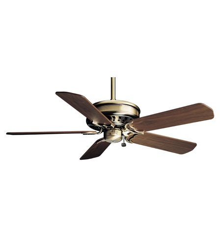 Casablanca Factory Refurbished Concentra Ceiling Fan - Motor only in Antique Brass (blades sold separately) 4944D photo