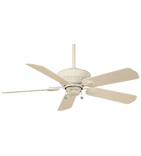 Casablanca Factory Refurbished Estrada Ceiling Fan - Motor only in Navajo White (blades sold separately) 4726D photo