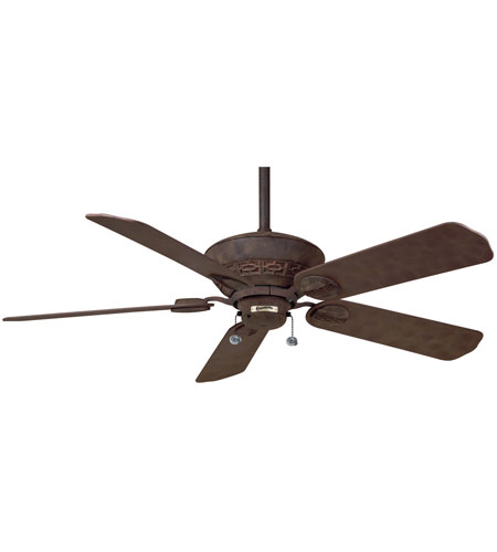 Casablanca Factory Refurbished Estrada Ceiling Fan - Motor only in Rustic Iron (blades sold separately) 4746D photo