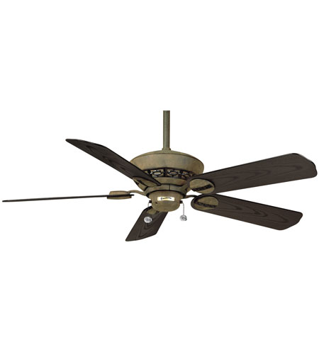 Casablanca 47846d Estrada Rustic Iron Matte Black Ceiling Fan