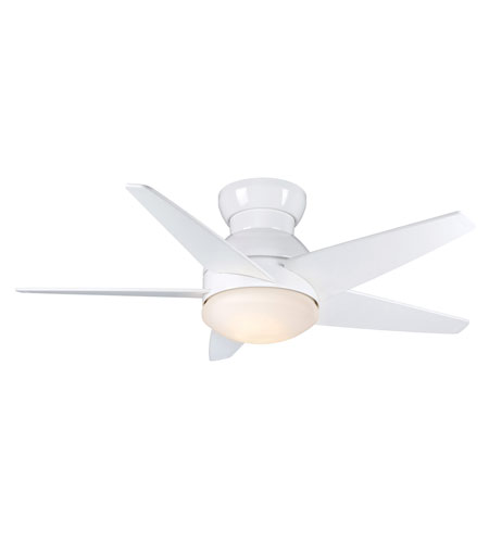Casablanca Factory Refurbished Isotope 2 Light Ceiling Fan - Gallery Edition in Snow White with Hi-Gloss Snow White Blades C35G11H photo