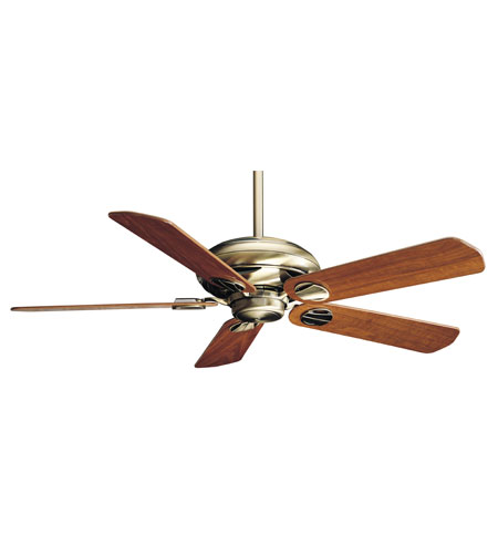 Casablanca Factory Refurbished Metropolitan Transitional Ceiling Fan - Motor only in Antique Brass 6444T photo