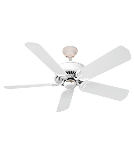 Casablanca Factory Refurbished Panama Halo 3 Light Ceiling Fan - Motor only in Architectural White (blades sold separately) 66H72F photo
