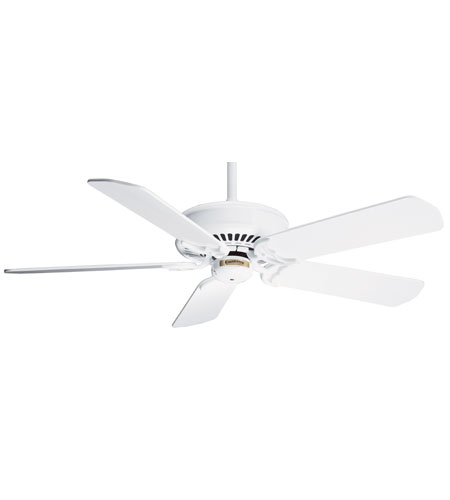 Casablanca Factory Refurbished Panama Traditional Ceiling Fan - Motor only in Snow White 6611T photo