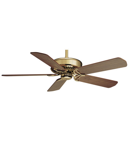 Casablanca Factory Refurbished Panama Traditional Ceiling Fan - Motor only in Bright Brass 6622T photo