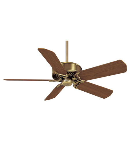 Casablanca Factory Refurbished Panama Traditional Ceiling Fan - Motor only in Antique Brass 6644T photo