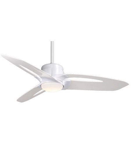 Casablanca Star 3 Blade 52 inch Ceiling Fan Unipack in Snow White with Hi-Gloss Snow White Blades C28G11M photo