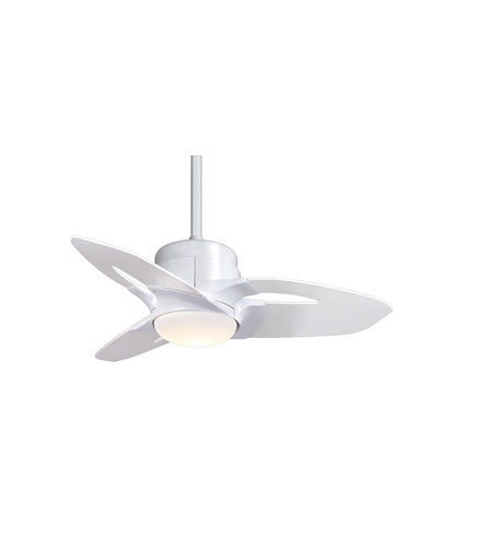 Casablanca starlet 3 blade 36 inch ceiling fan unipack in snow white casablanca starlet 3 blade 36 inch ceiling fan unipack in snow white with hi gloss aloadofball