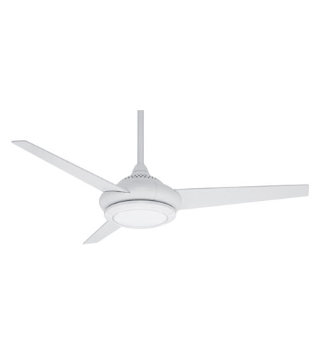 Casablanca Tercera 3 Blade 52 inch Ceiling Fan Unipack in Snow White with Glossy Snow White Blades C22G11L photo