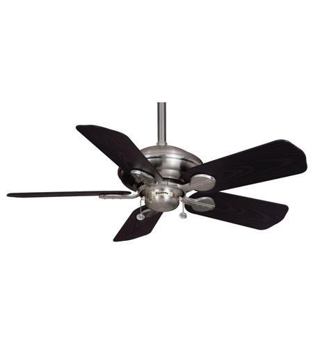 Casablanca Factory Refurbished Utopian Ceiling Fan - Motor only in Brushed Nickel (blades sold separately) 7745D photo