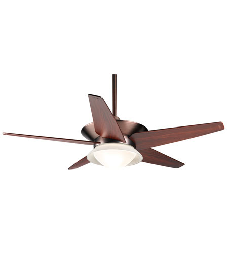 Casablanca Vita 5 Blade 52 inch Ceiling Fan Unipack in Cherry Bronze with Mahogany Blades C17G667A photo