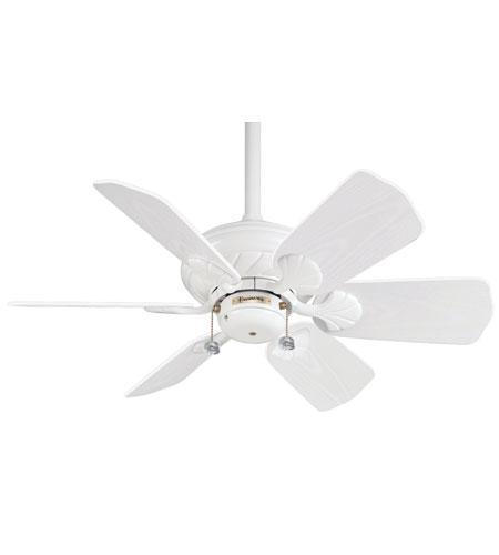casablanca wailea indoor ceiling fan in snow white 41u11d